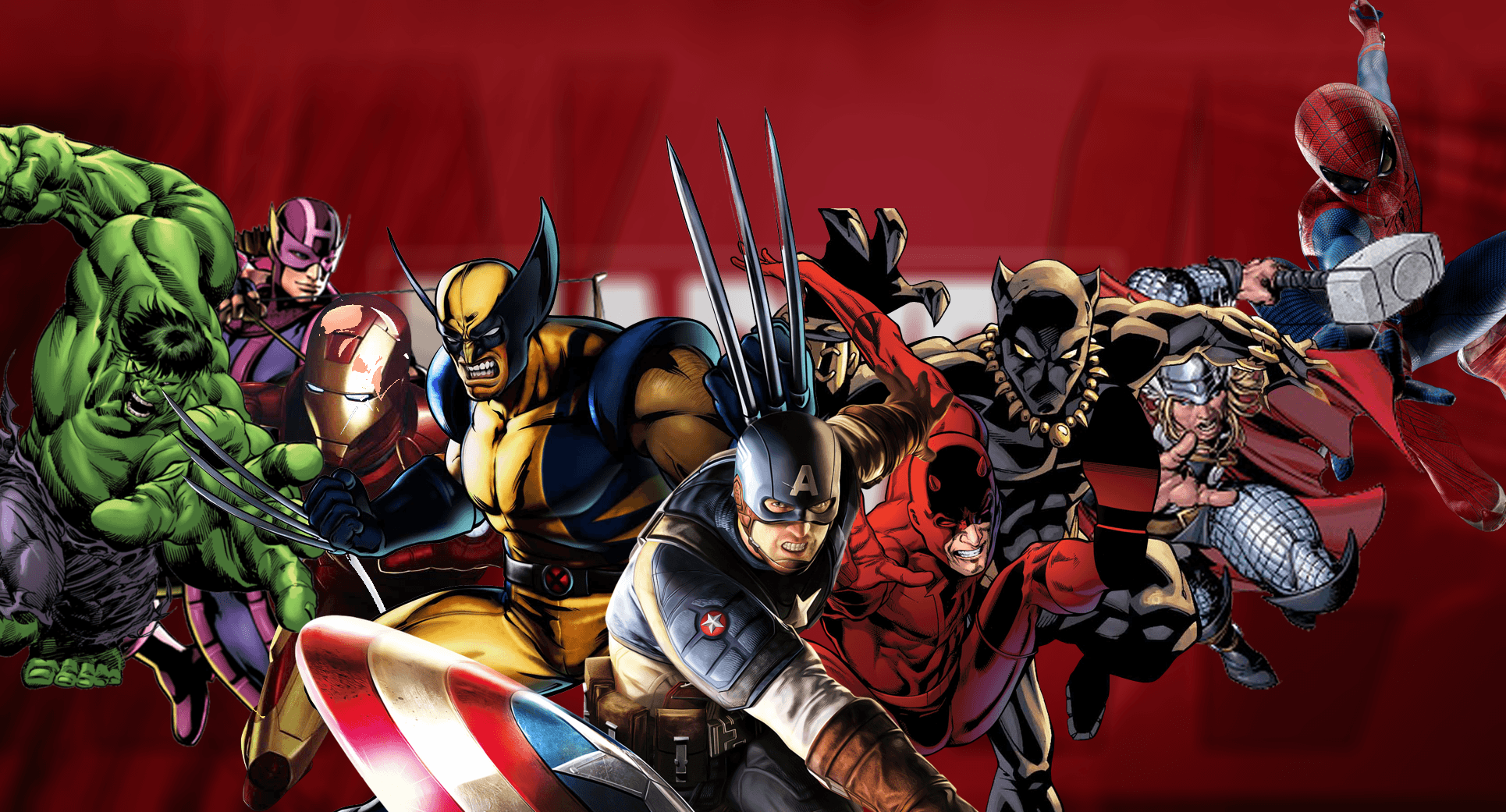 4K Marvel Characters Wallpapers - Wallpaper Cave