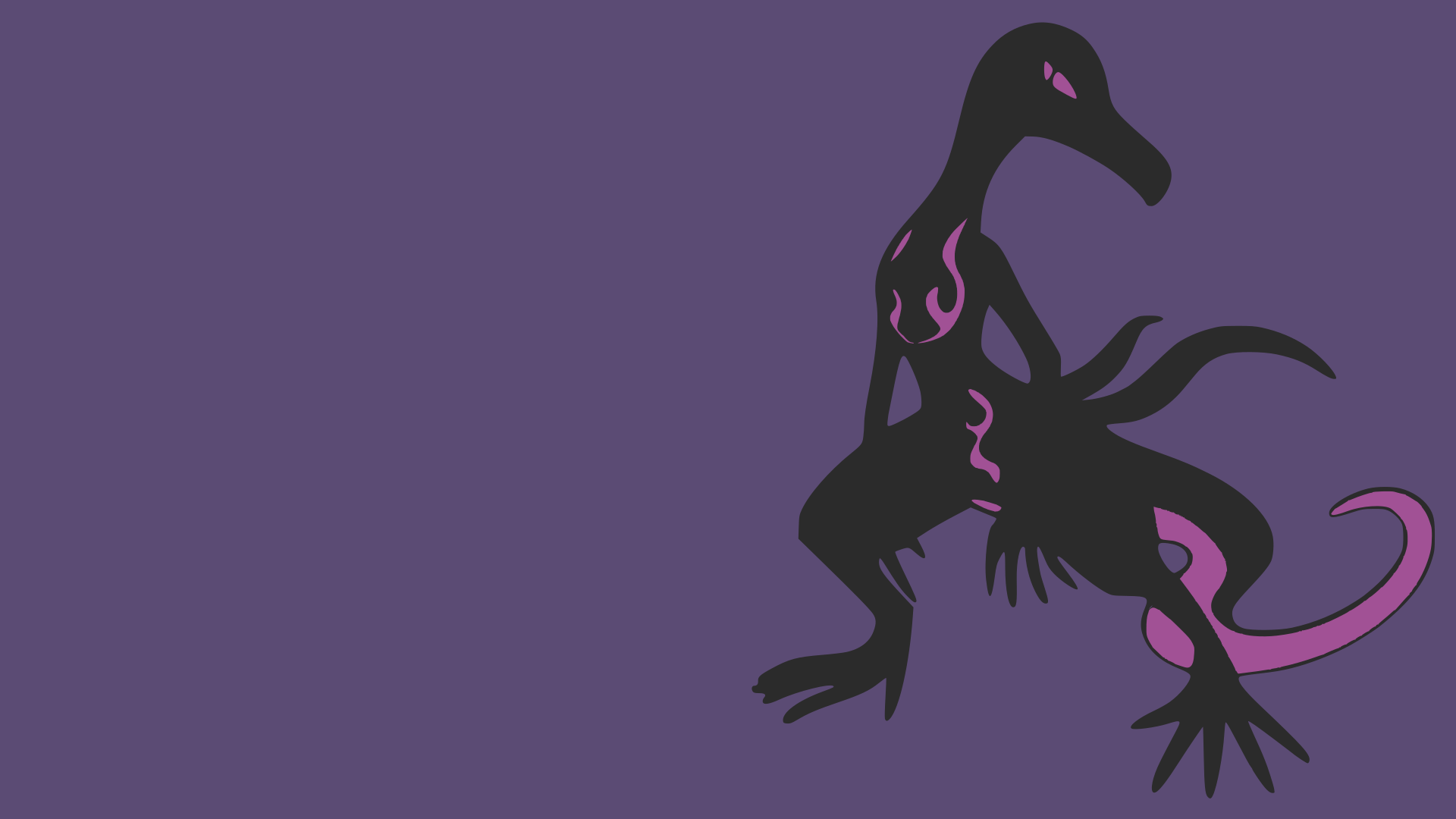 I made a Salazzle wallpaper : PokeMoonSun