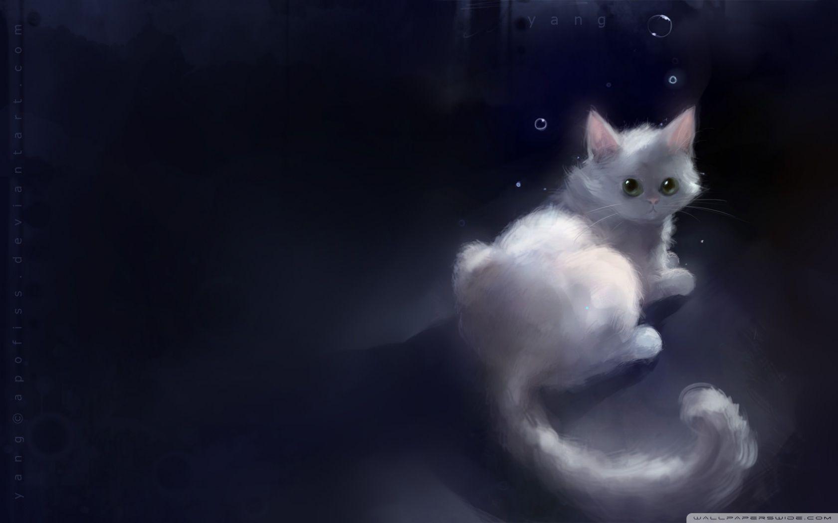 Fantasy Cat Wallpapers Wallpaper Cave