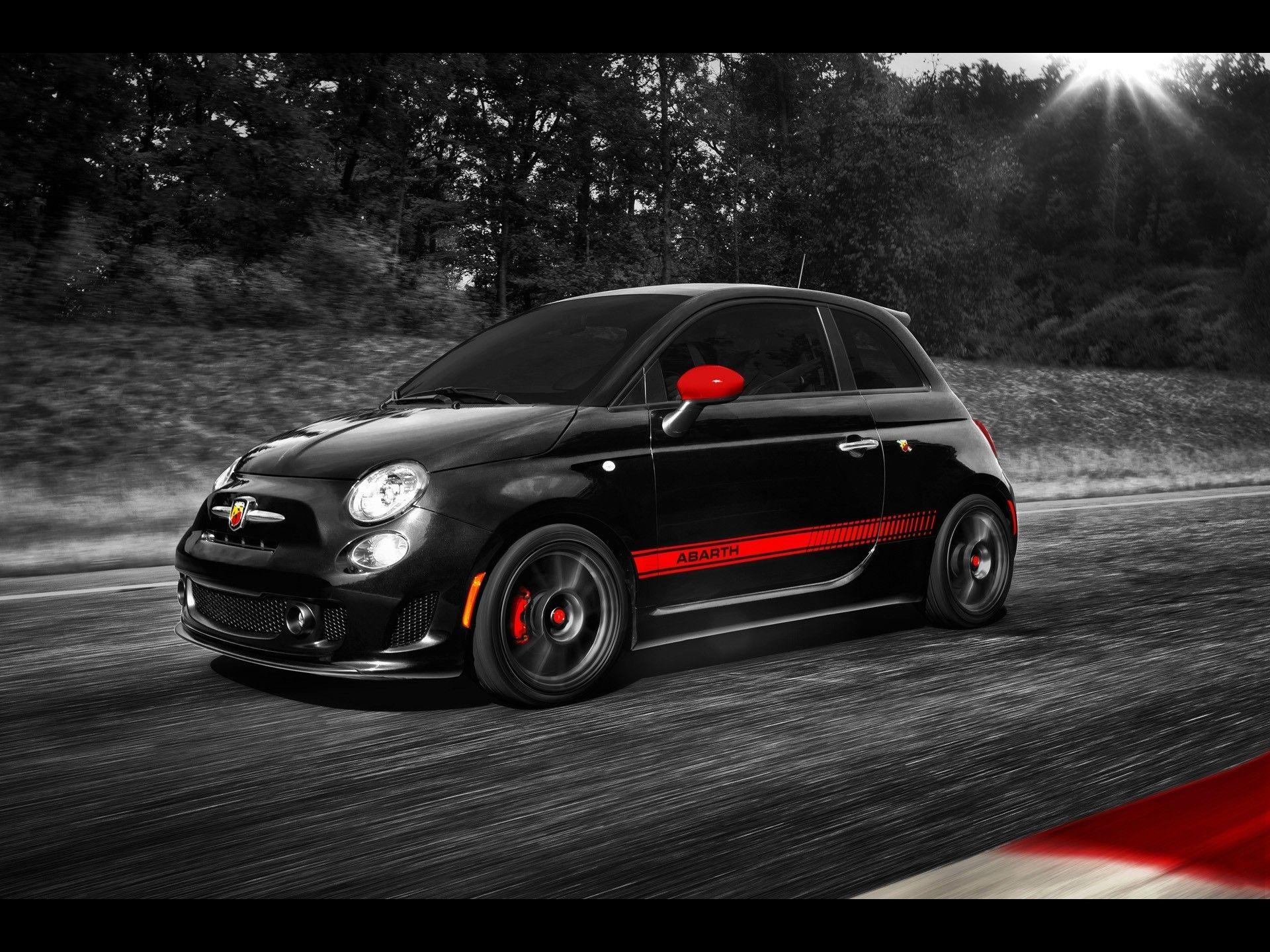 fiat fiat 500 abarth wallpaper and background