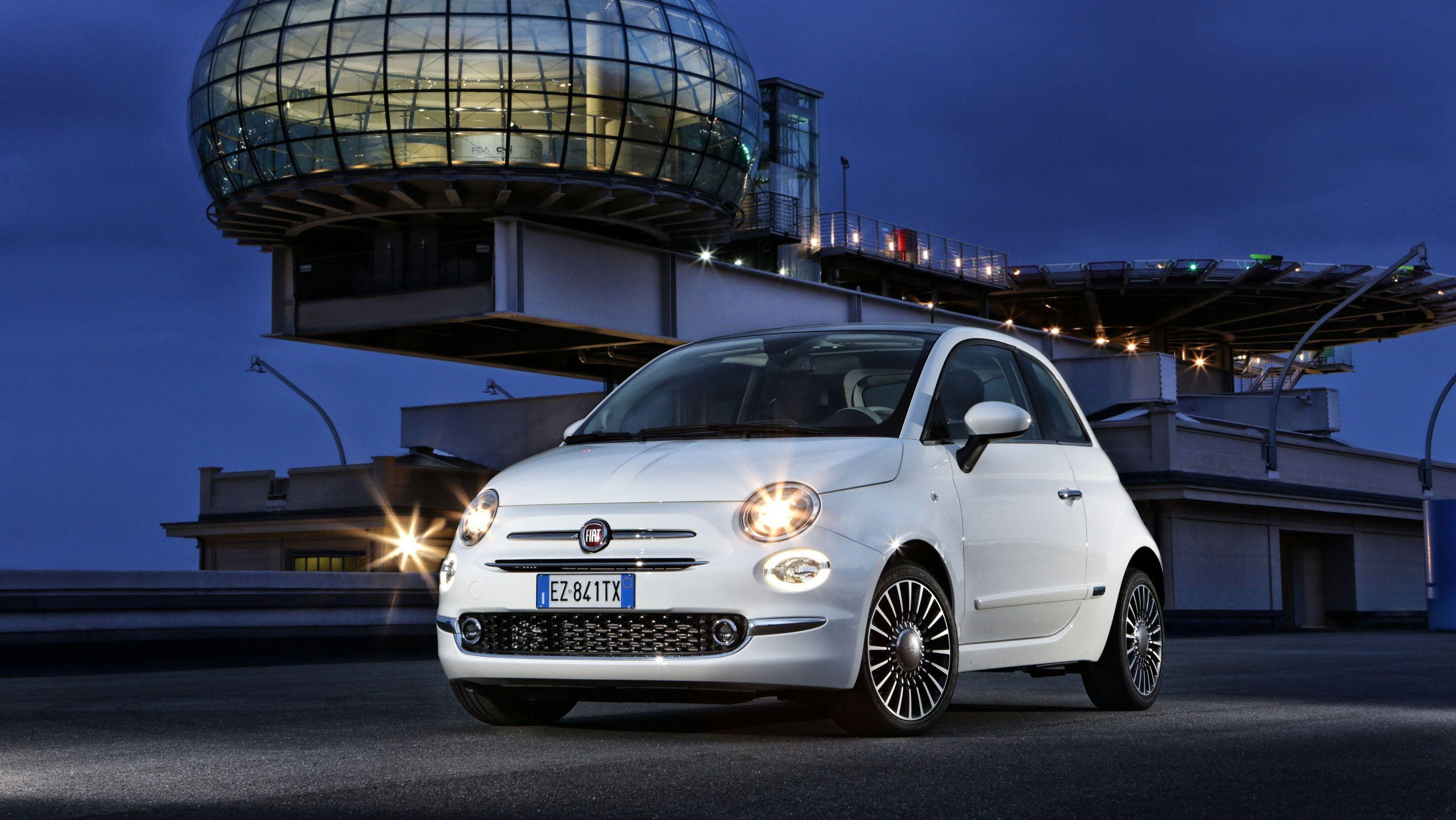 Wallpaper Of The Day: 2106 - 2019 Fiat 500 | Top Speed