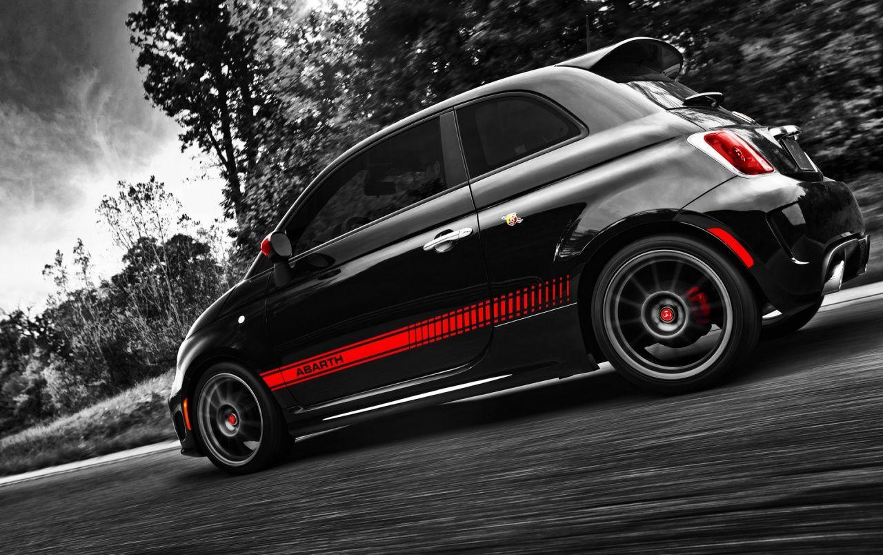 Fiat 500 Abarth Side Angle wallpapers | Fiat 500 Abarth Side Angle ...