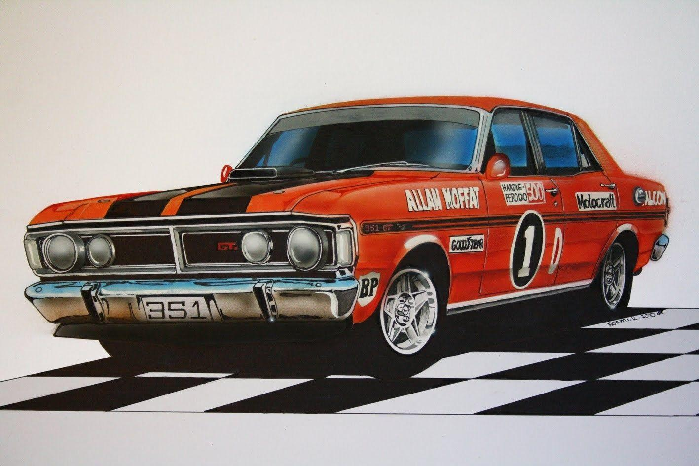 Free Awesome xy ford falcon phase iii gtho backround, Bradshaw