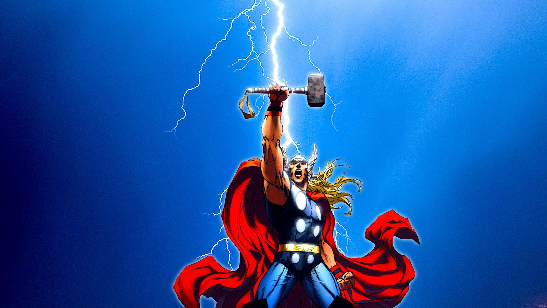 89+ Thor Lightning Wallpapers