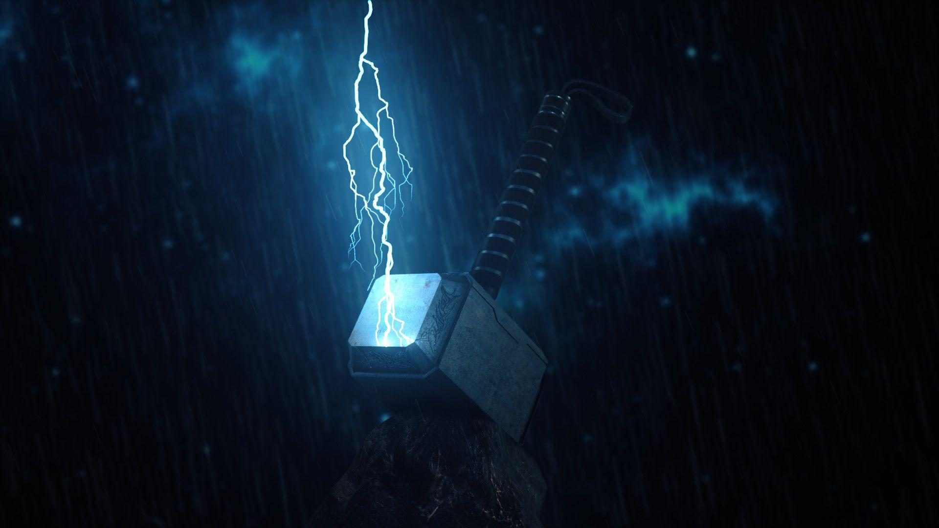 Download Thor Hammer Hd Wallpapers