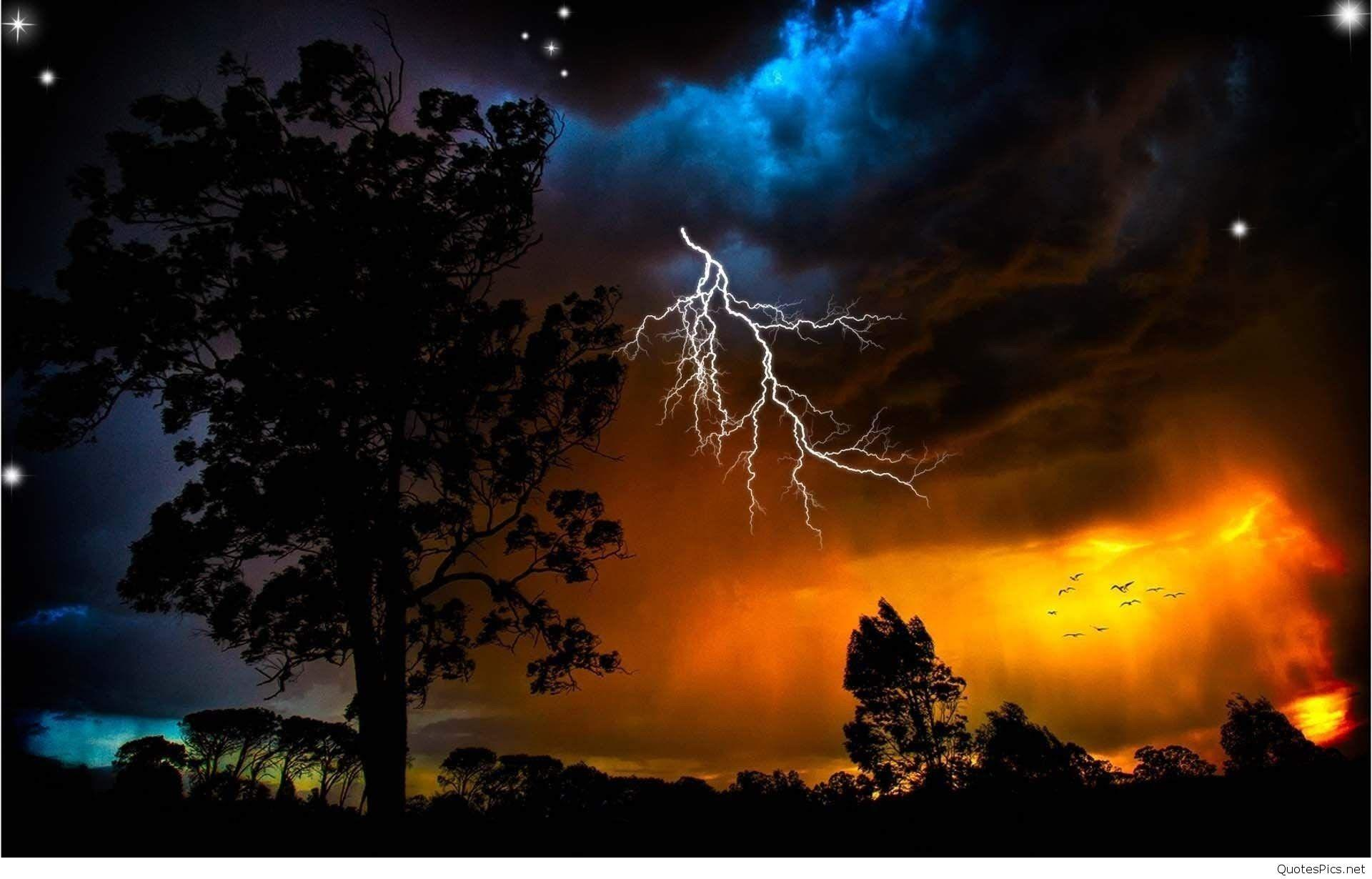 37 Lightening Wallpapers and Thunderstorm Wallpapers In HD Free Download