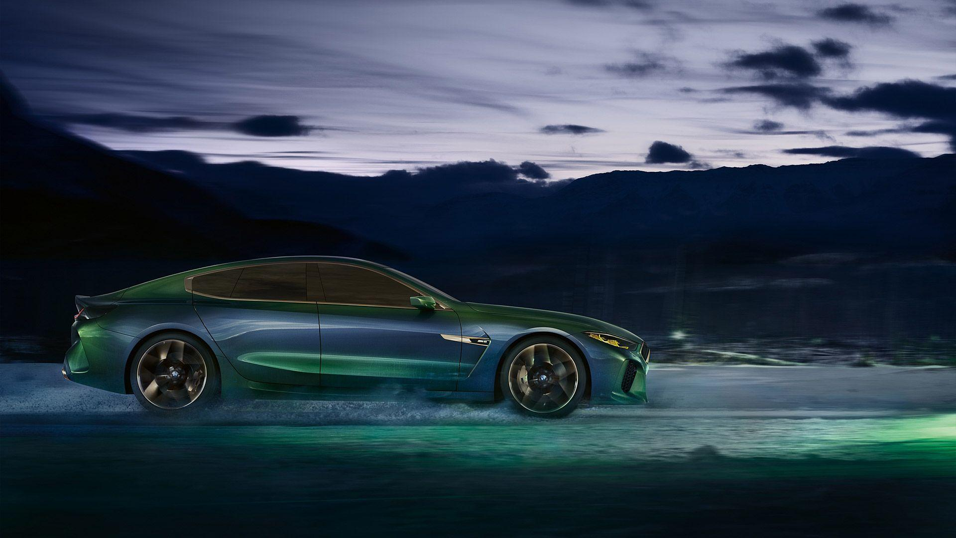 2018 BMW M8 Gran Coupe Concept Wallpapers & HD Image
