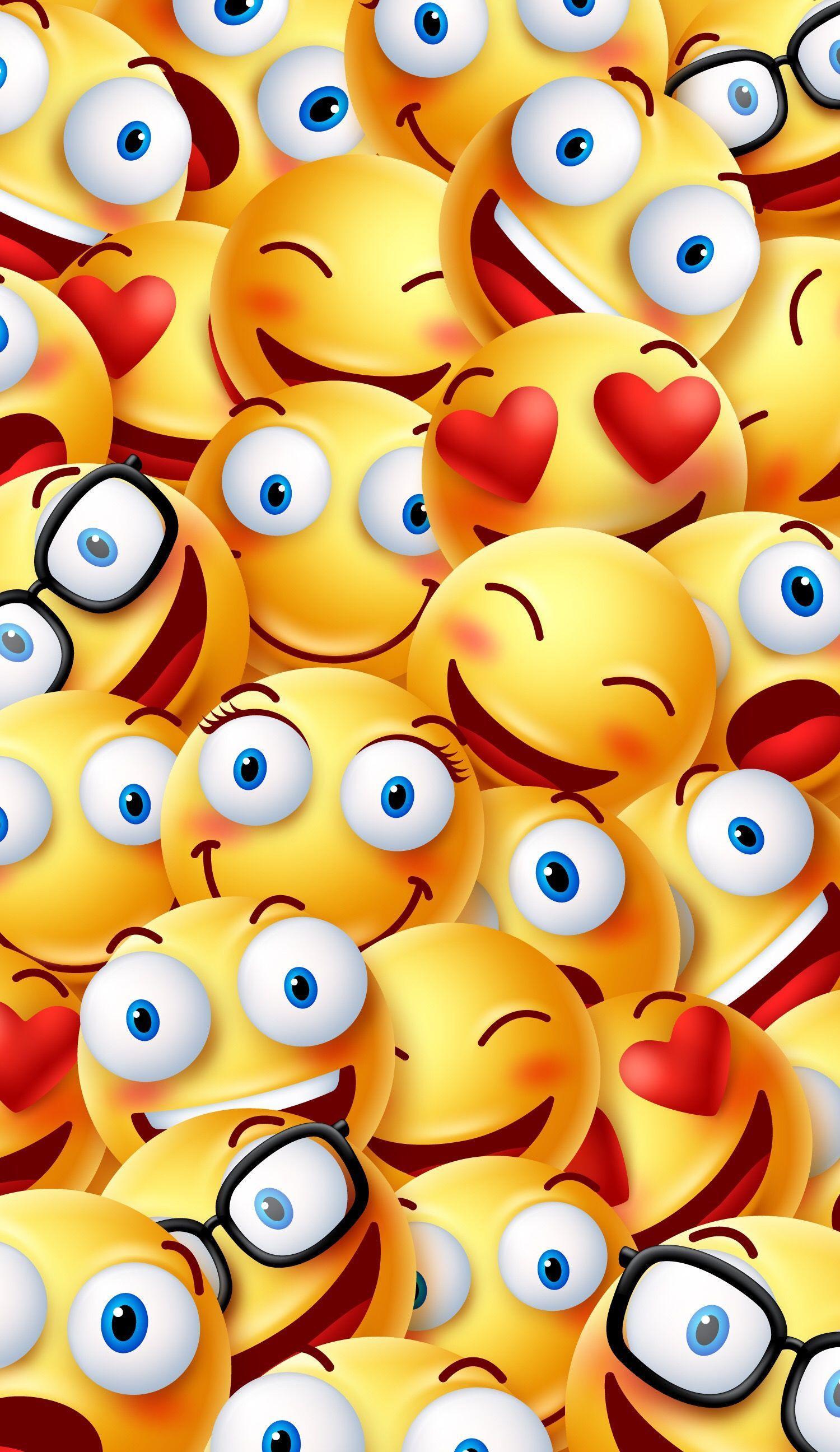 Funny Emoji Wallpapers - Wallpaper Cave