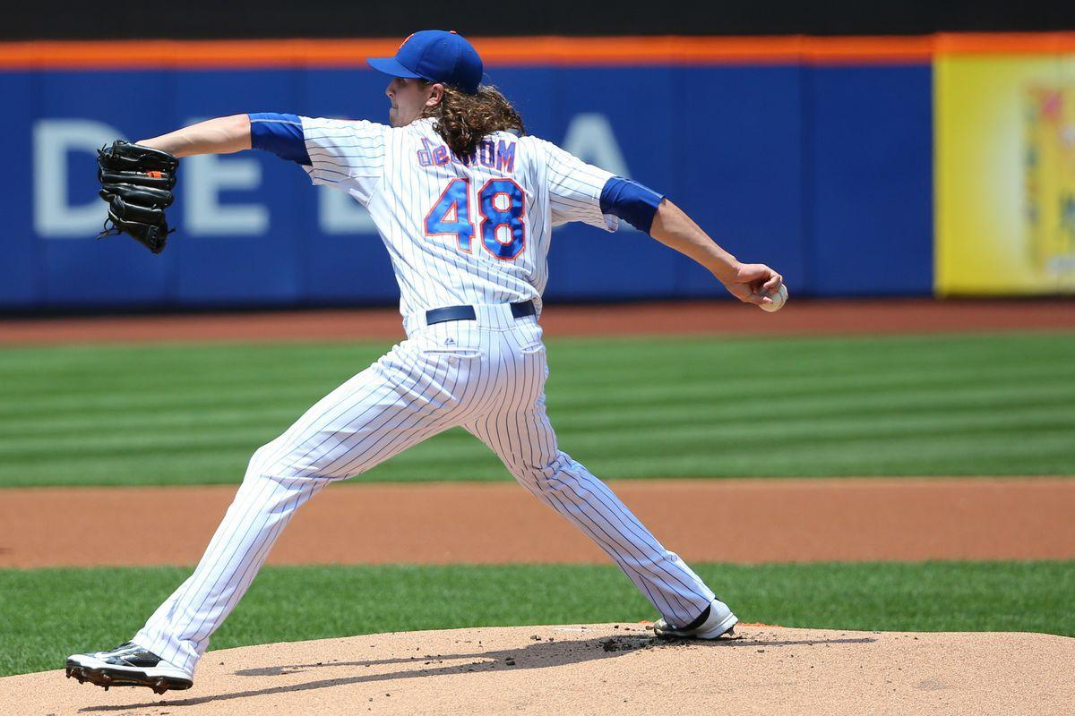 Statistically, Jacob deGrom on par with Zack Greinke