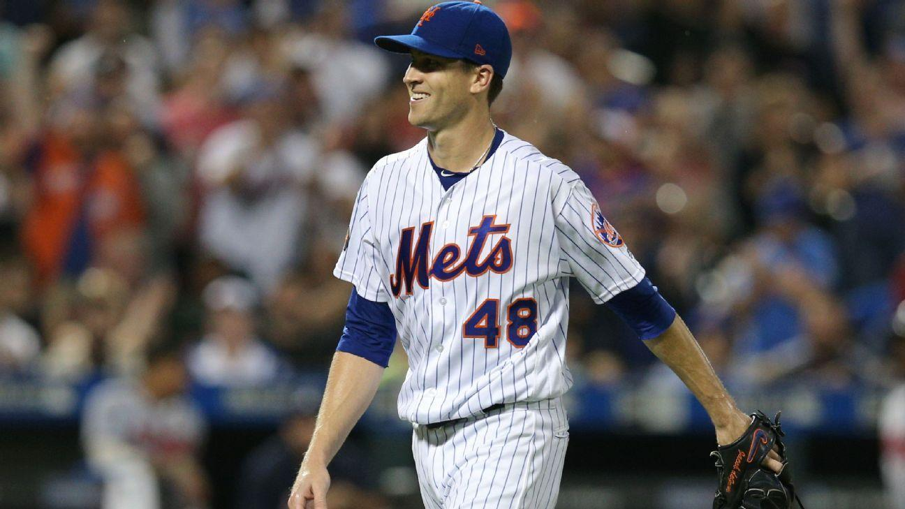 Mets' Jacob deGrom rides majors