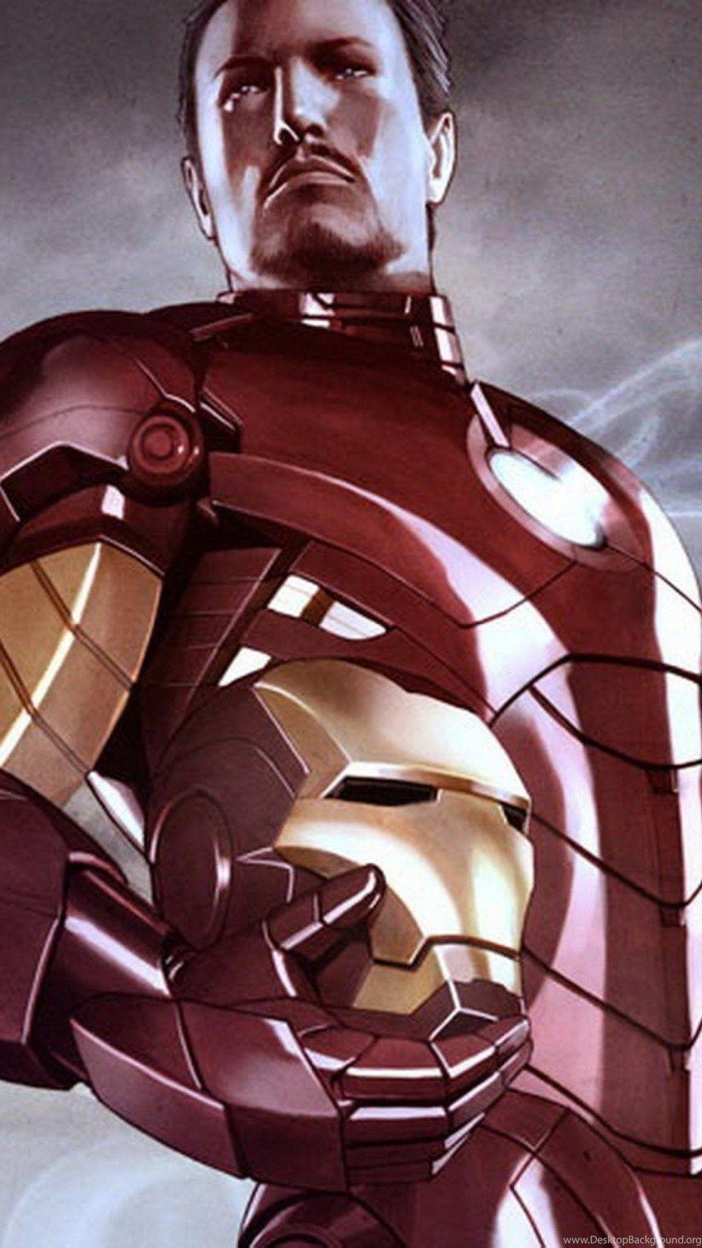 Tony Stark Cartoon Wallpapers - Wallpaper Cave