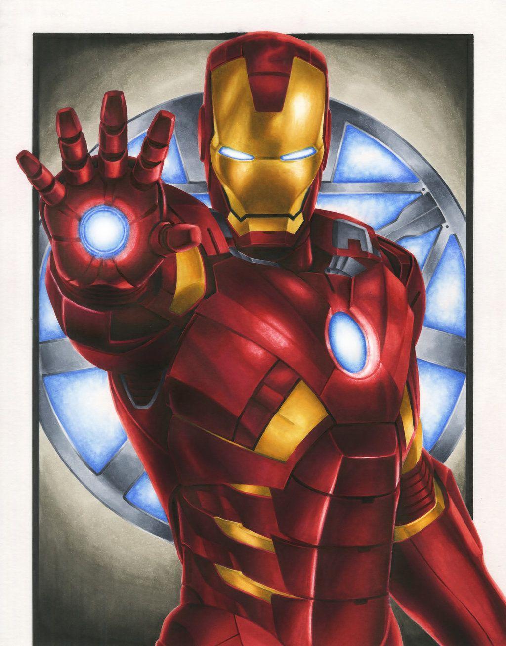 Tony stark cartoon wallpapers wallpaper cave - Iron man cartoon wallpaper ...
