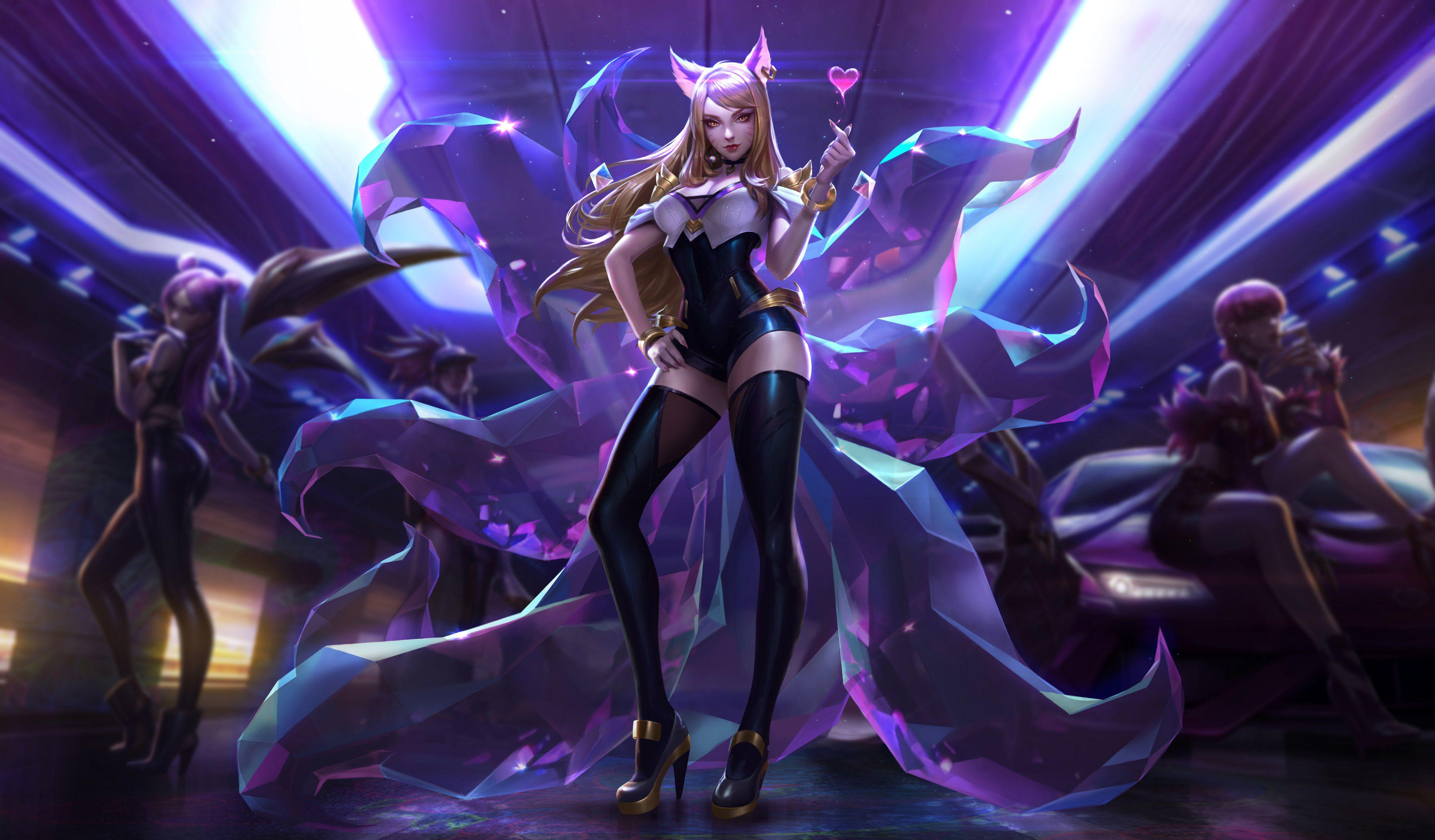 K Da Ahri Wallpapers Wallpaper Cave
