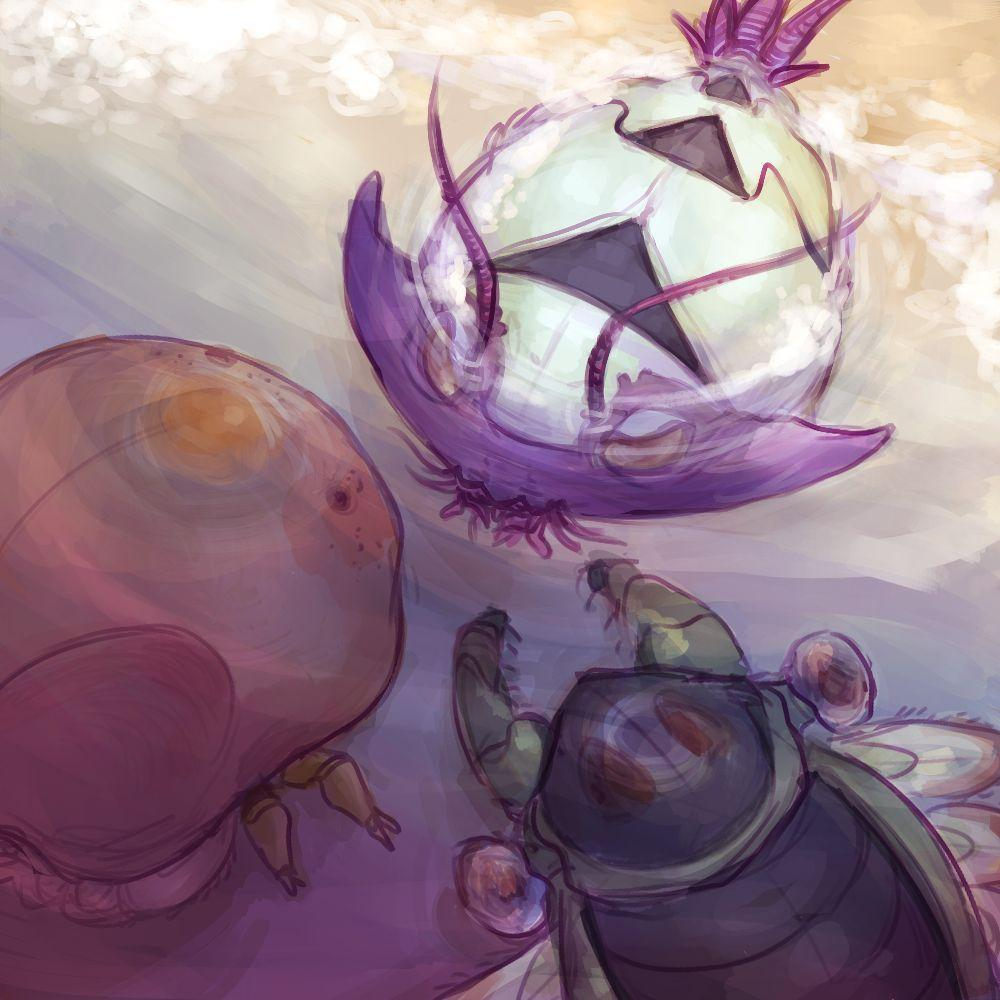 Kabuto, Wimpod, and Anorith by Aedeagus