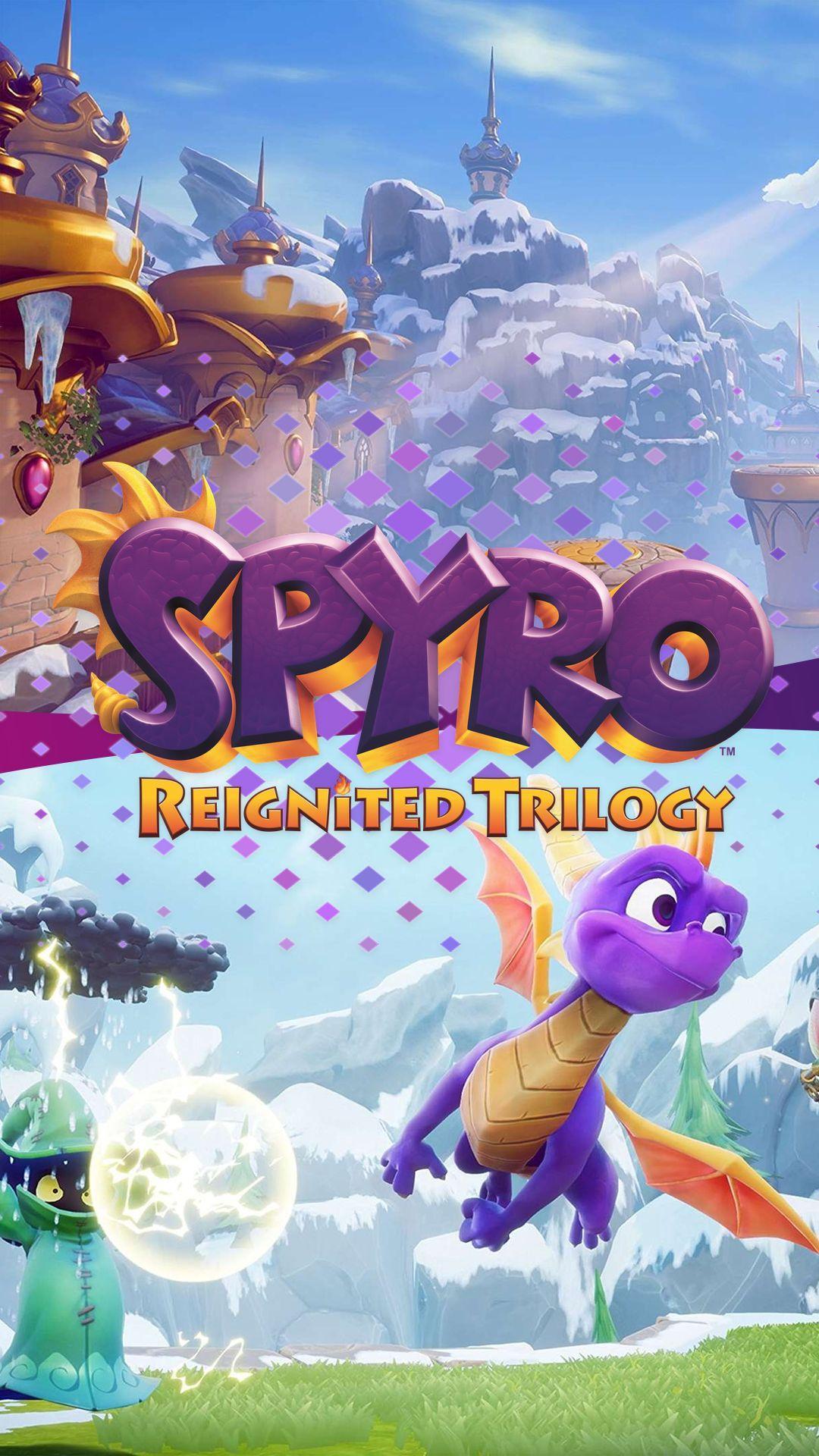 Spyro reignited trilogy wallpapers wallpaper cave - Spyro wallpaper ...