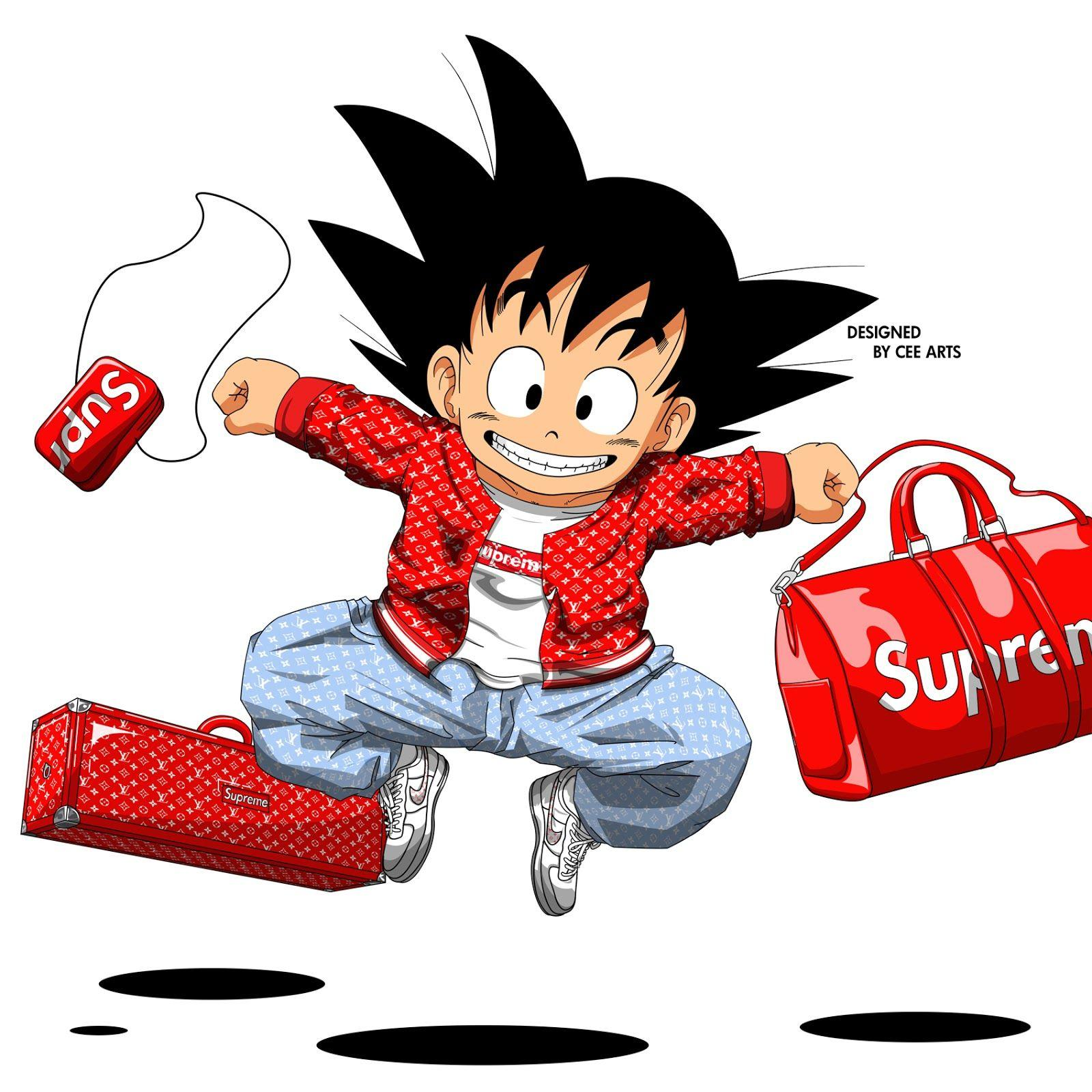 Supreme Cartoon Wallpapers Wallpaper Cave