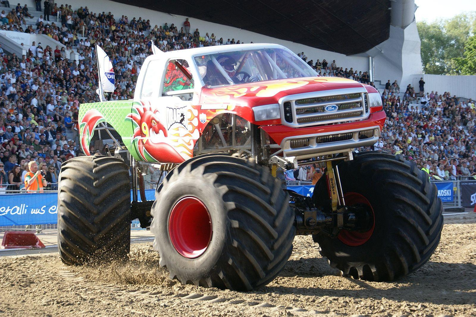 Image - Monstertrucks wallpaper 014 1600 1067.jpg | Monster Trucks ...