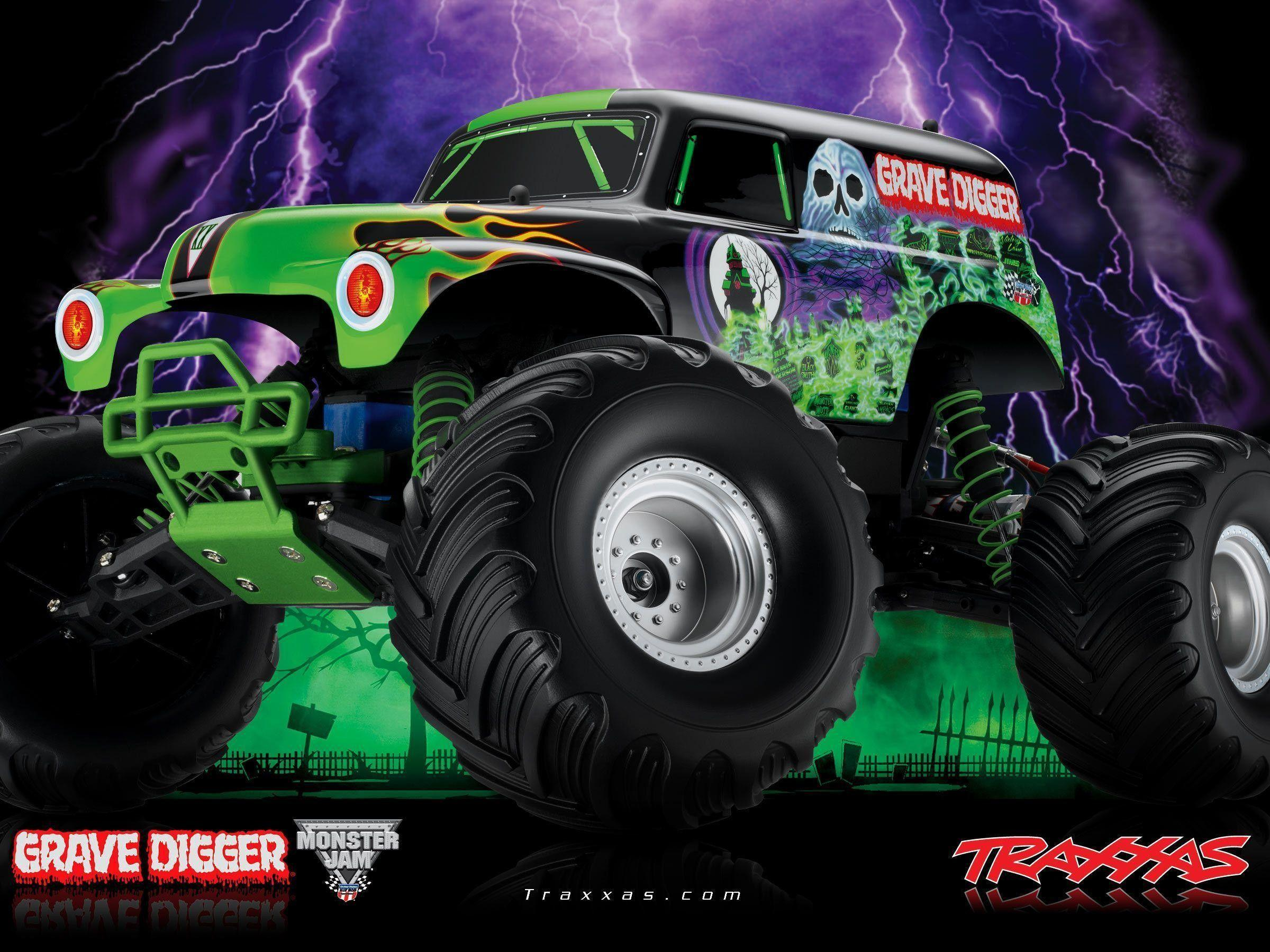 49+ Monster Truck Wallpapers on WallpaperPlay