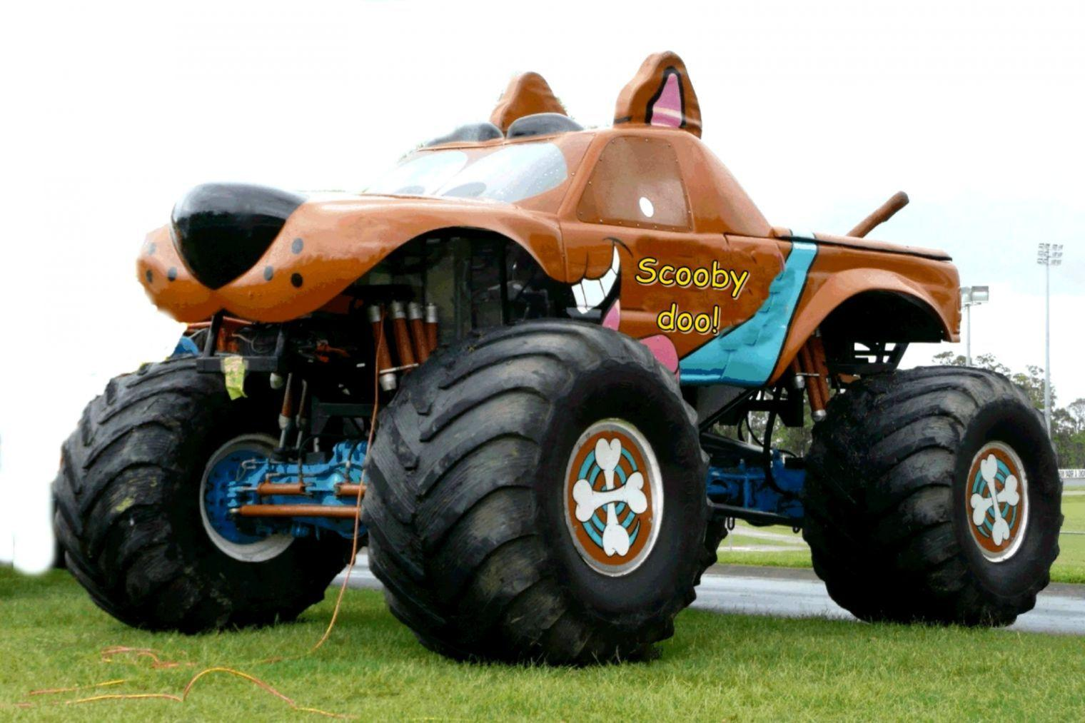 El Toro Lloco Monster Truck Wallpaper Desktop | Wallpaper Background HD