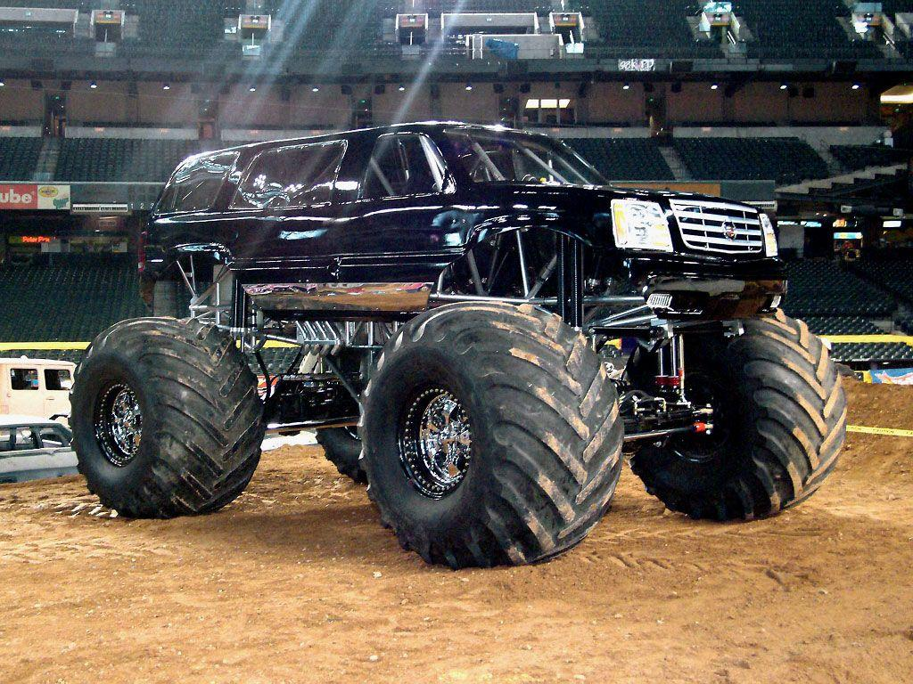 Cadillac Escalade Monster Truck Jam Wallpapers by Cars-wallpapers.net
