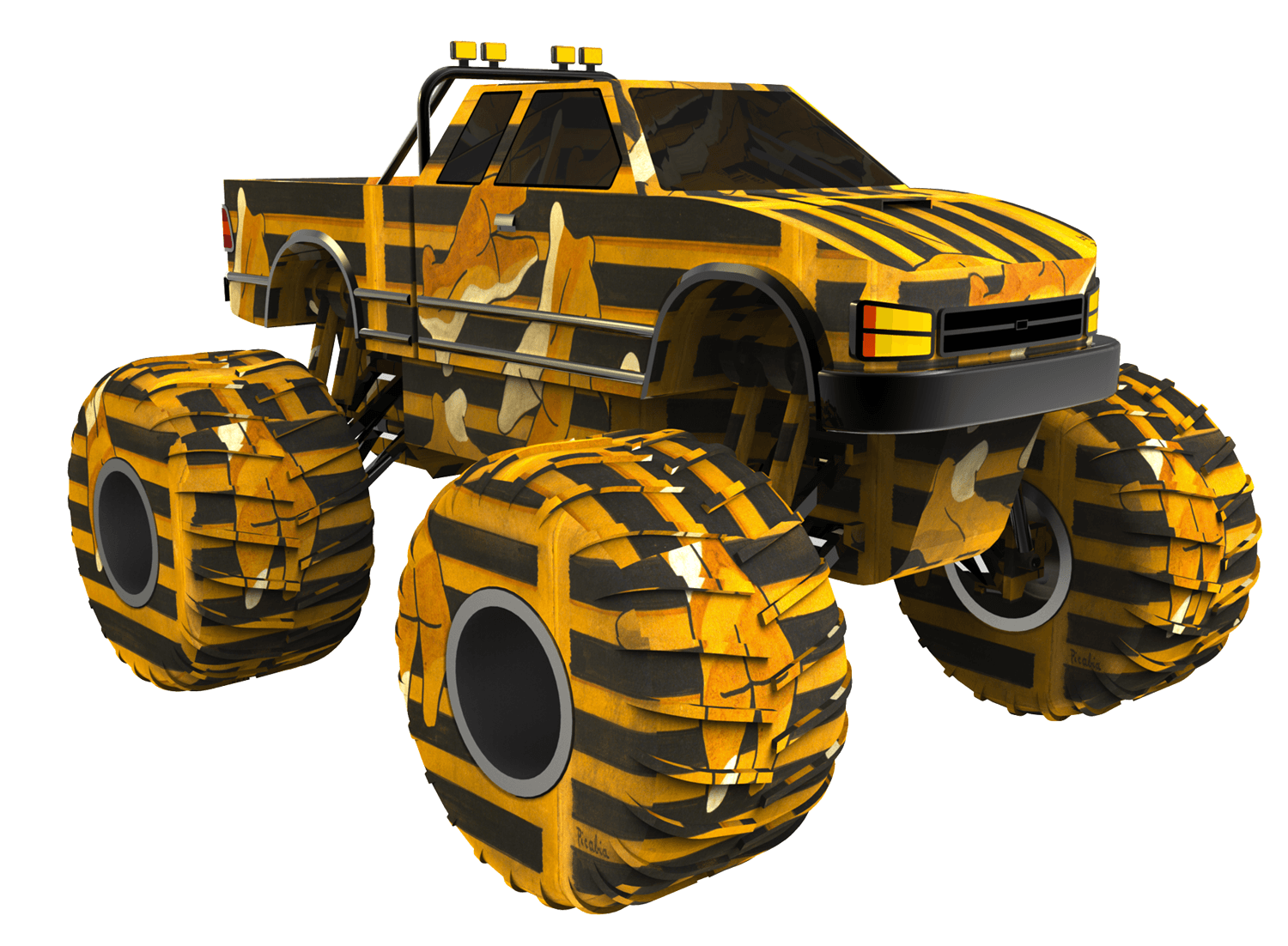 New Amber Wiggins | pixels 500x316, Monster truck