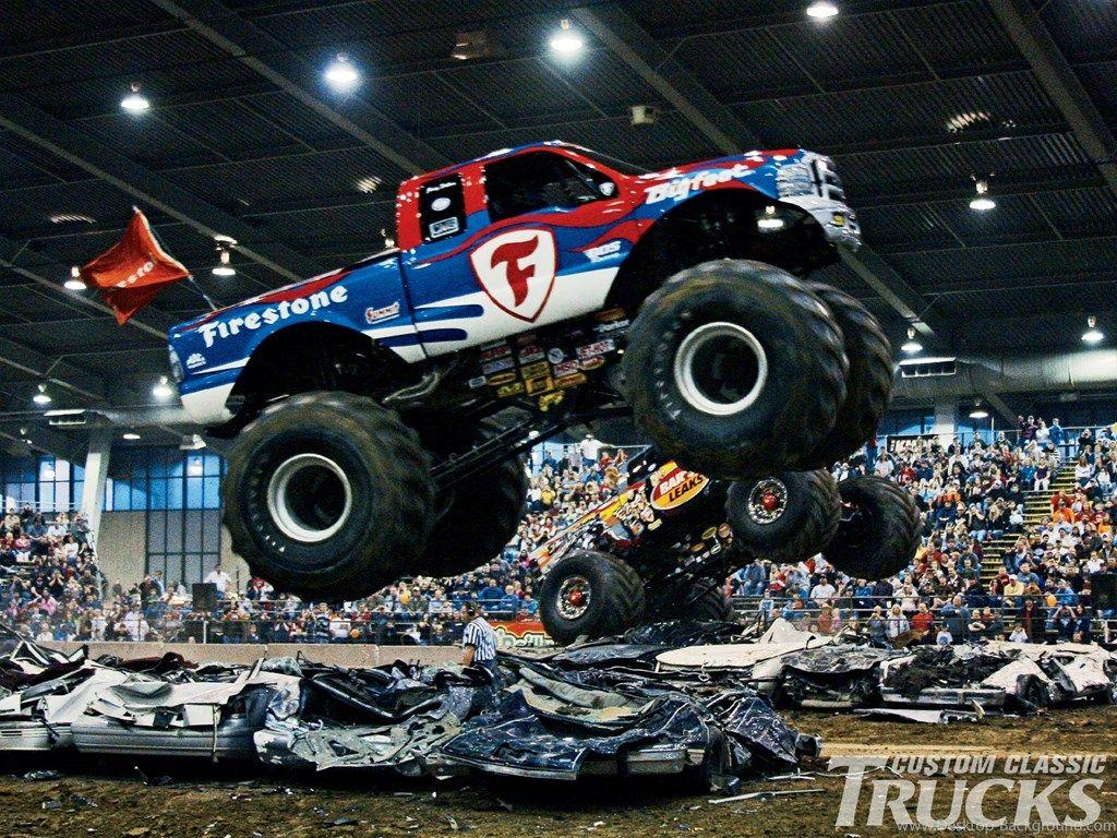 35+ Best HD Monster Truck Wallpapers Desktop Background