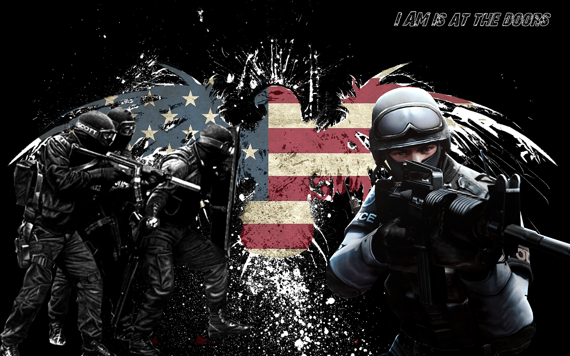 Police Flags Wallpapers Wallpaper Cave