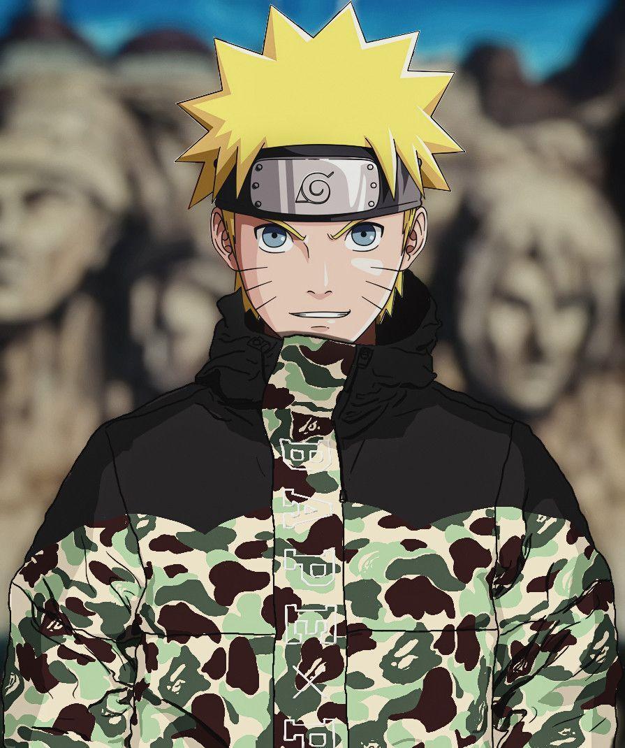 Naruto BAPE Wallpapers - Wallpaper Cave