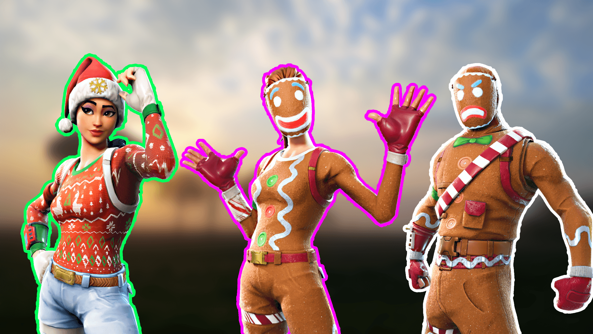 Fortnite Christmas Background Png