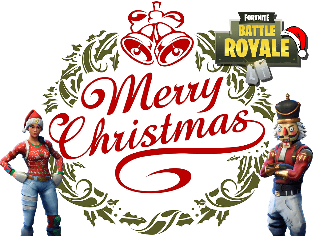 Fortnite Christmas Wallpapers Wallpaper Cave