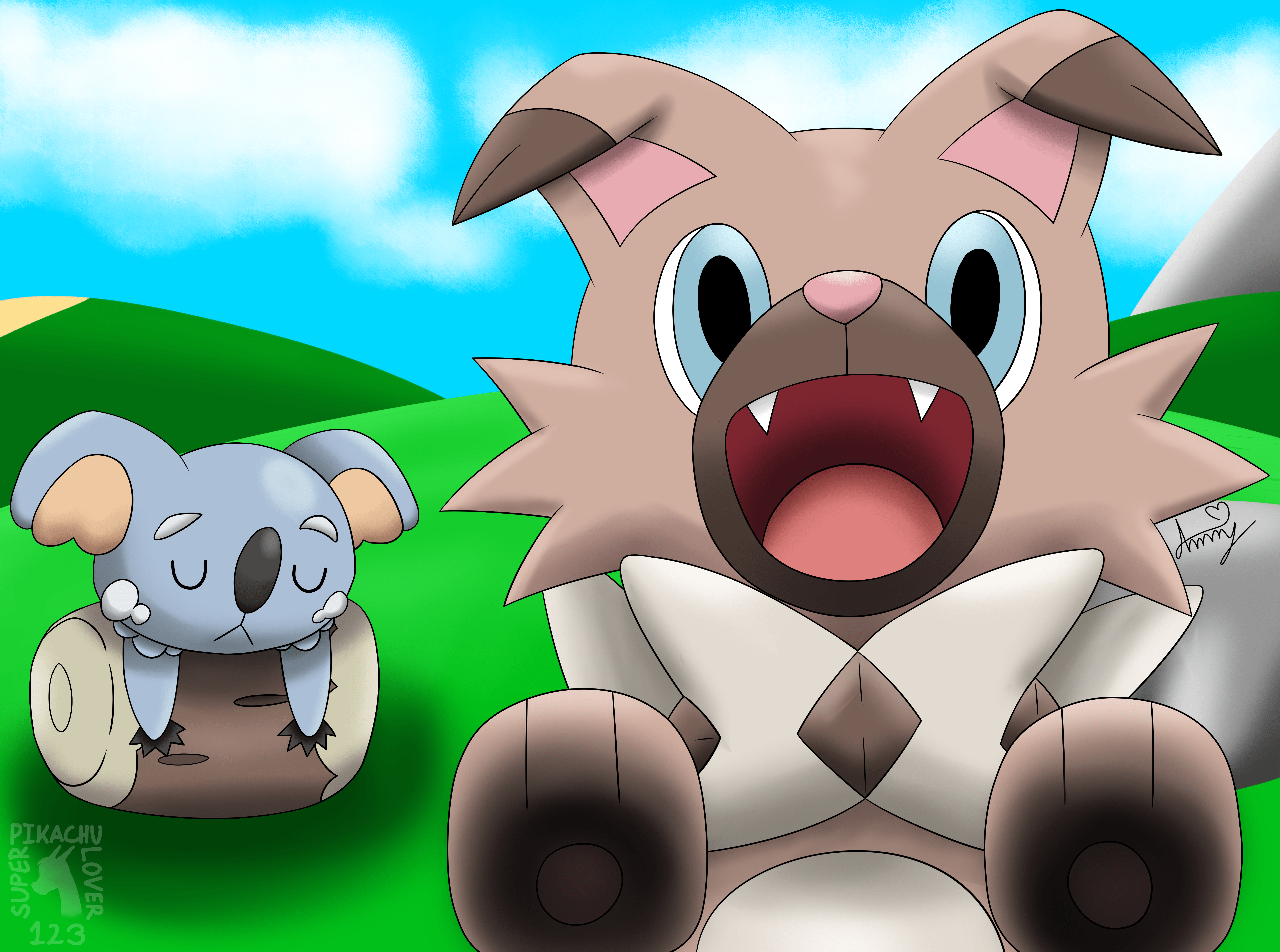6090x4530px Rockruff Wallpapers