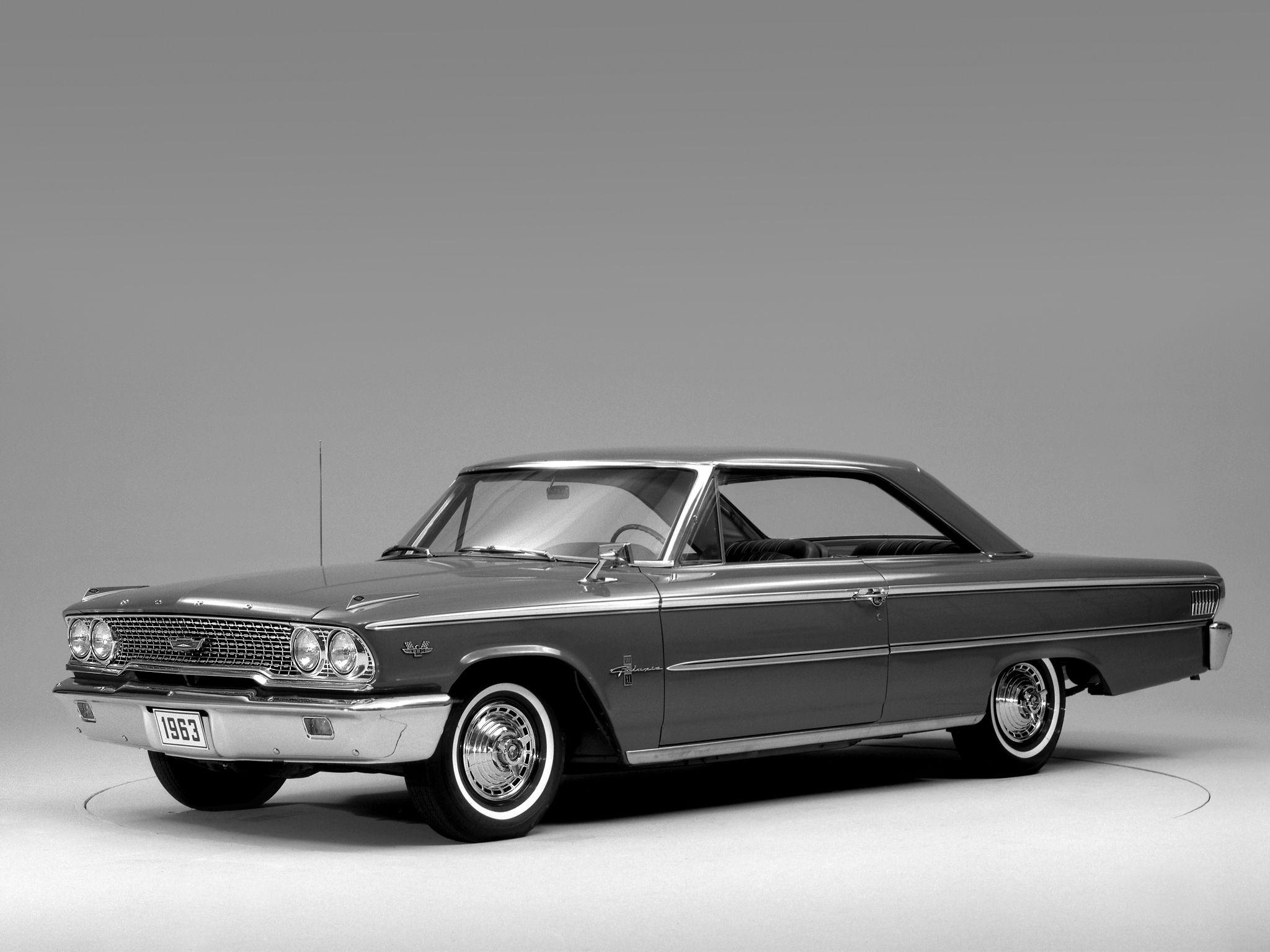 1963 Ford Galaxie 500 X-L Hardtop Coupe classic wallpaper ...