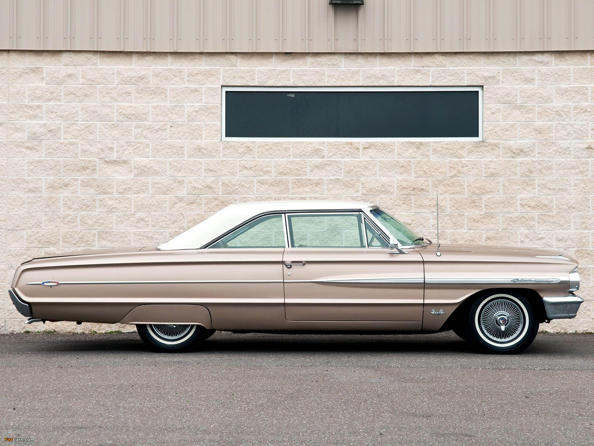 Ford Galaxie 500 XL Hardtop Coupe 1964 wallpapers (2048x1536)