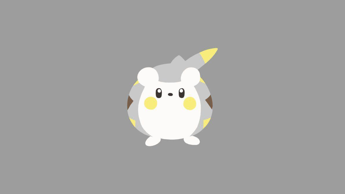 Minimalistic Wallpaper: Togedemaru