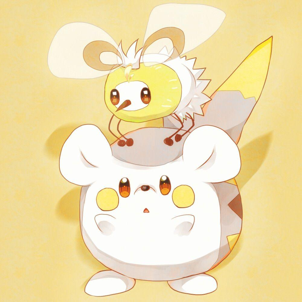 Cutiefly and Togedemaru by Sharoa