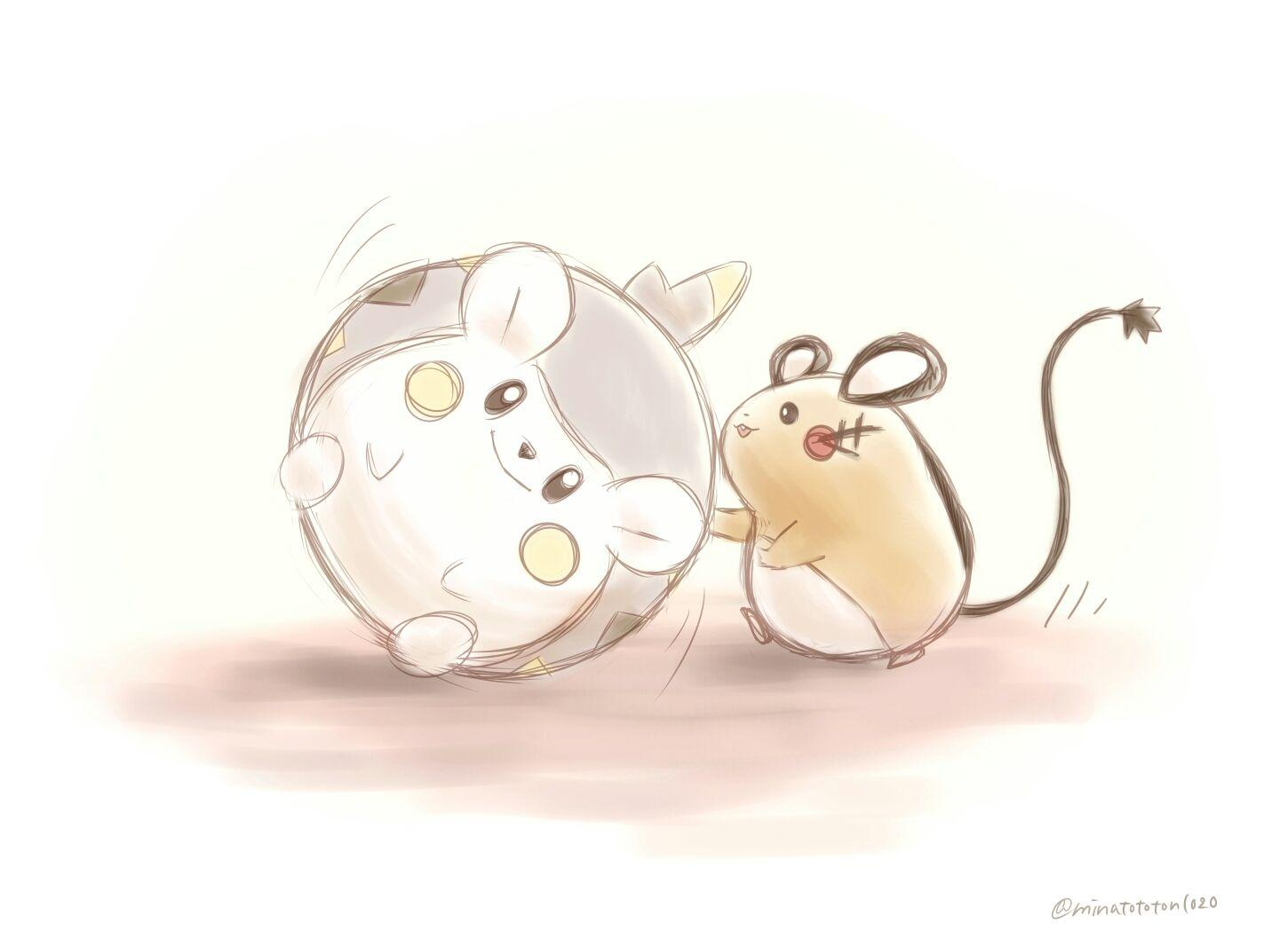 Togedemaru and Dedenne