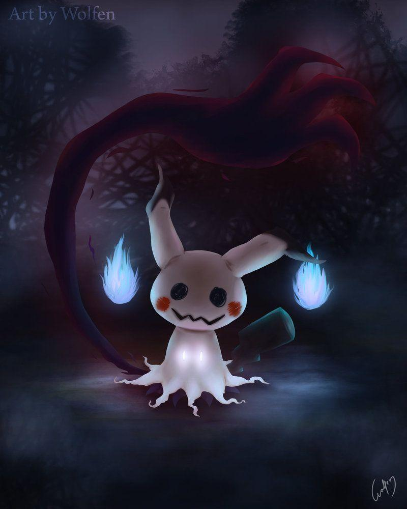Mimikyu Pokemon by Wolfen-C.deviantart.com on @DeviantArt | Pokemon ...