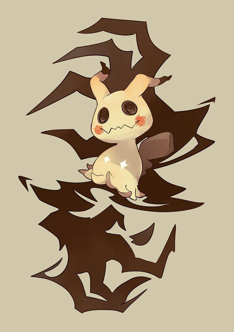 Mimikyu by xephia on DeviantArt
