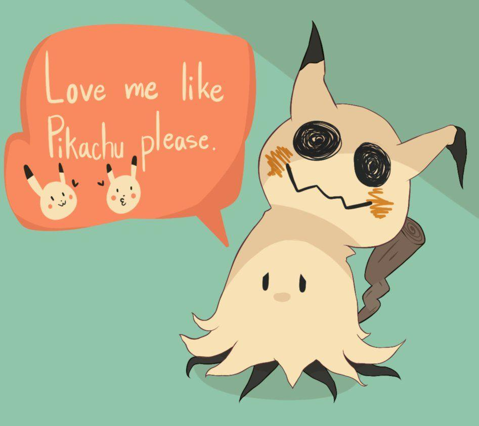 Mimikyu by LOUISalem on DeviantArt