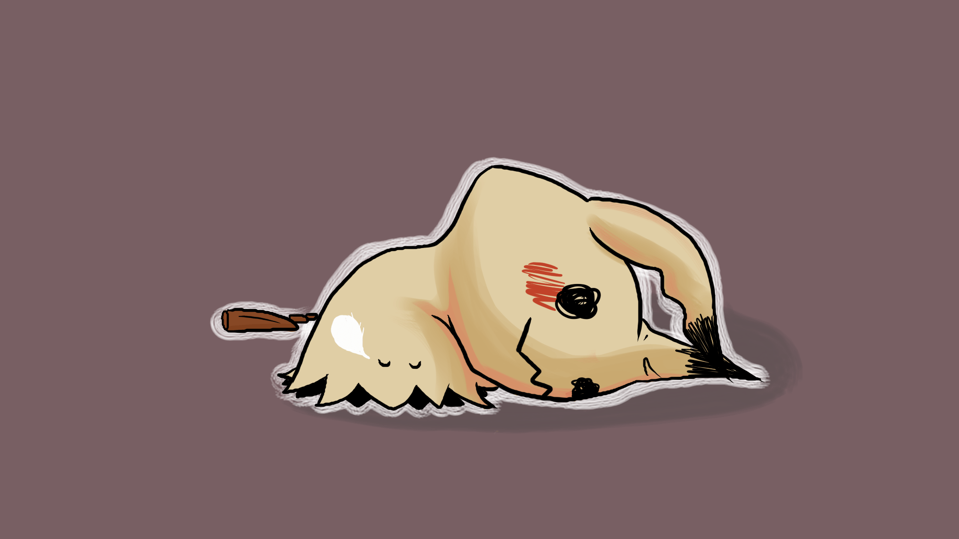 Mimikyu is tired by gamebrojimmy on Newgrounds