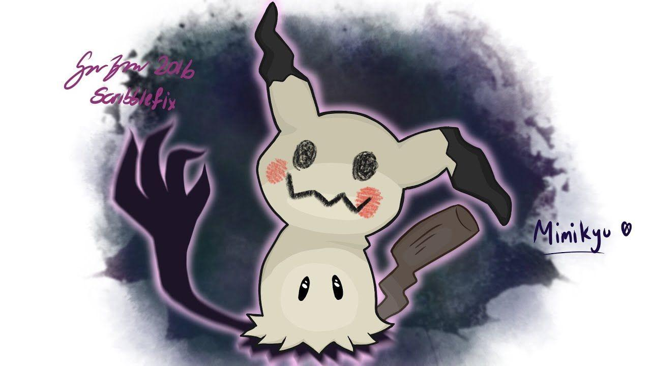 Pokemon Sun & Moon Mimikyu - Drawing - YouTube