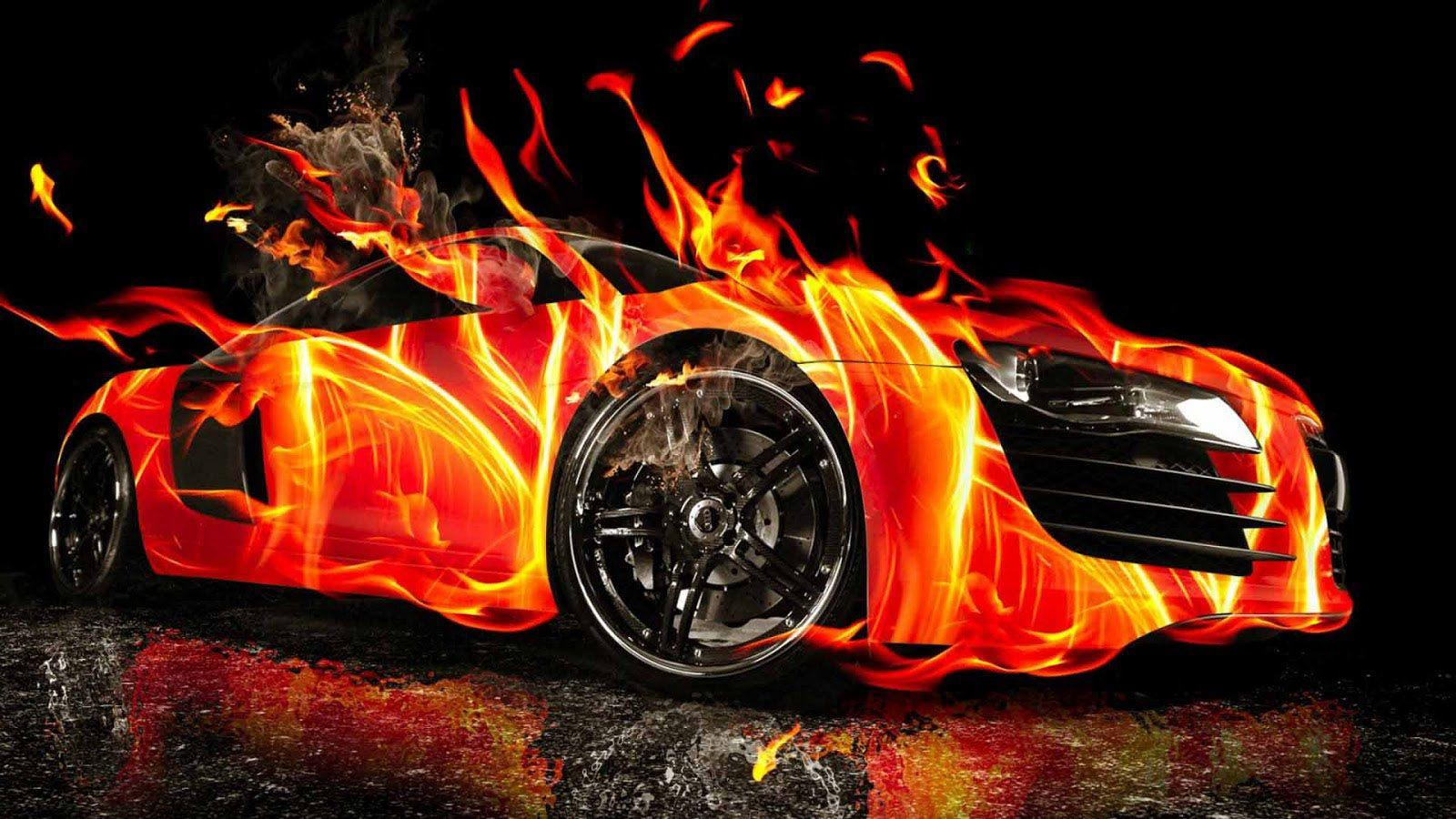 Fire Cars Wallpapers