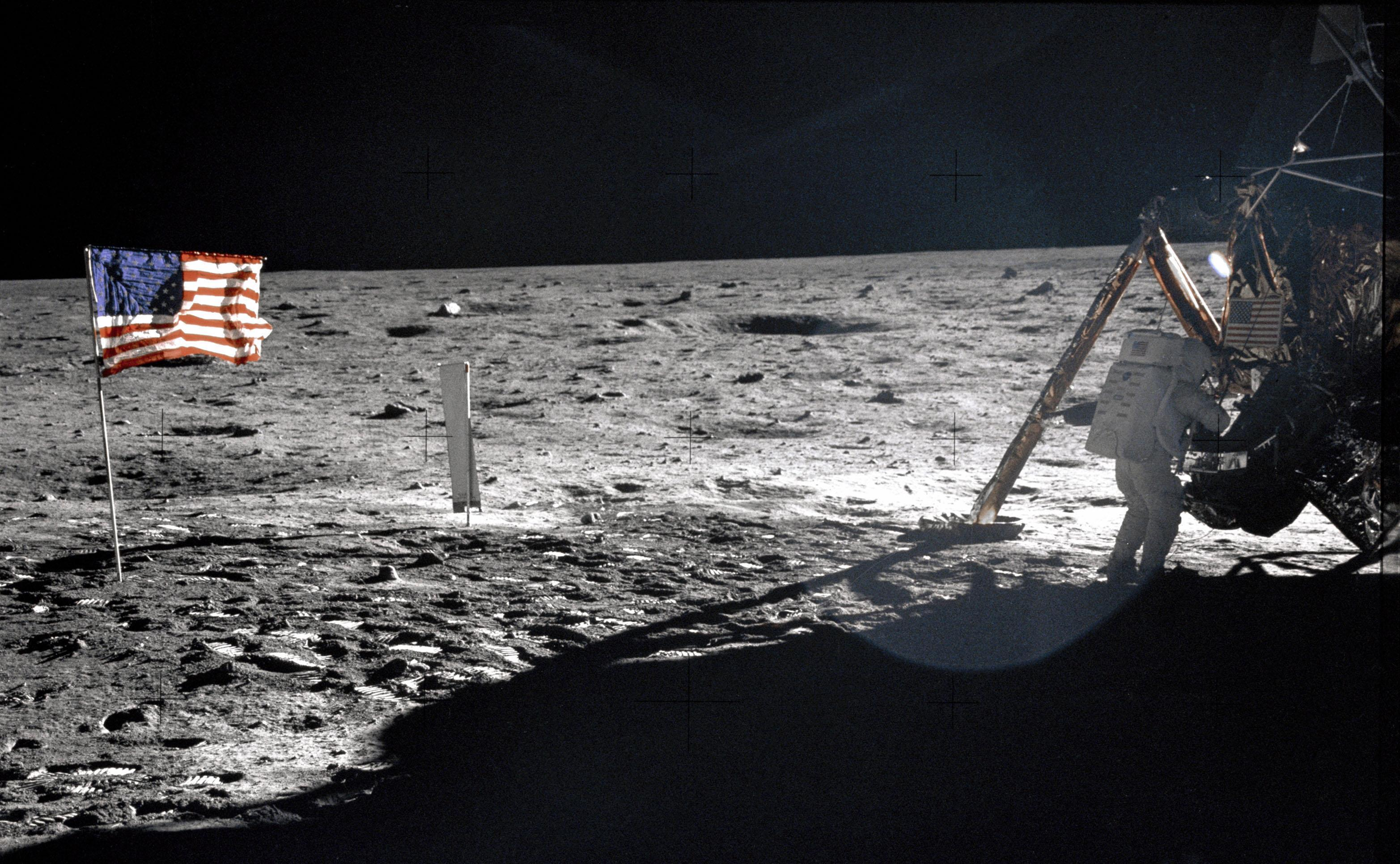 This is Our Best Photo of Neil Armstrong on the Moon