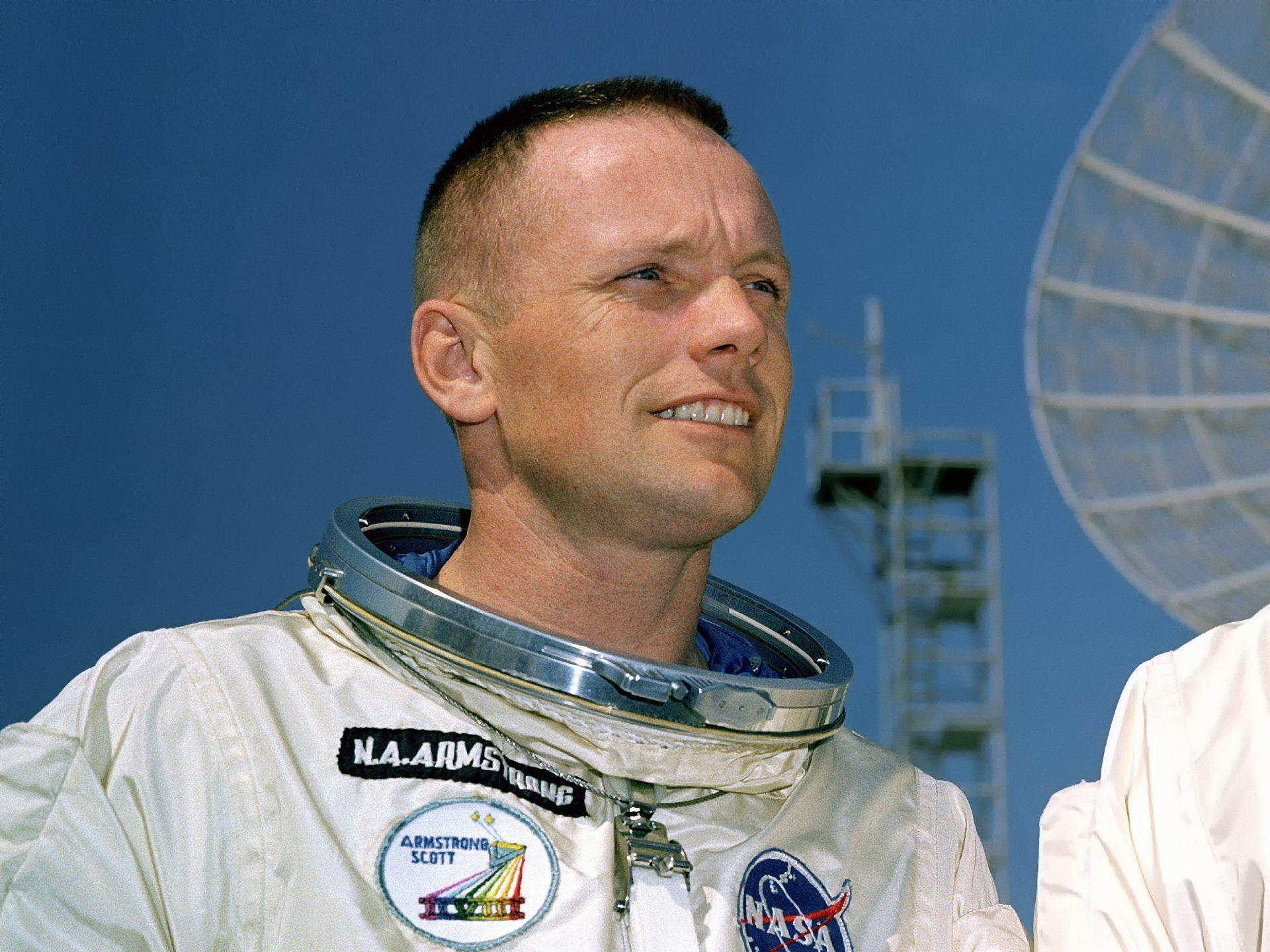 neil armstrong astronaut man legend space moon HD wallpapers