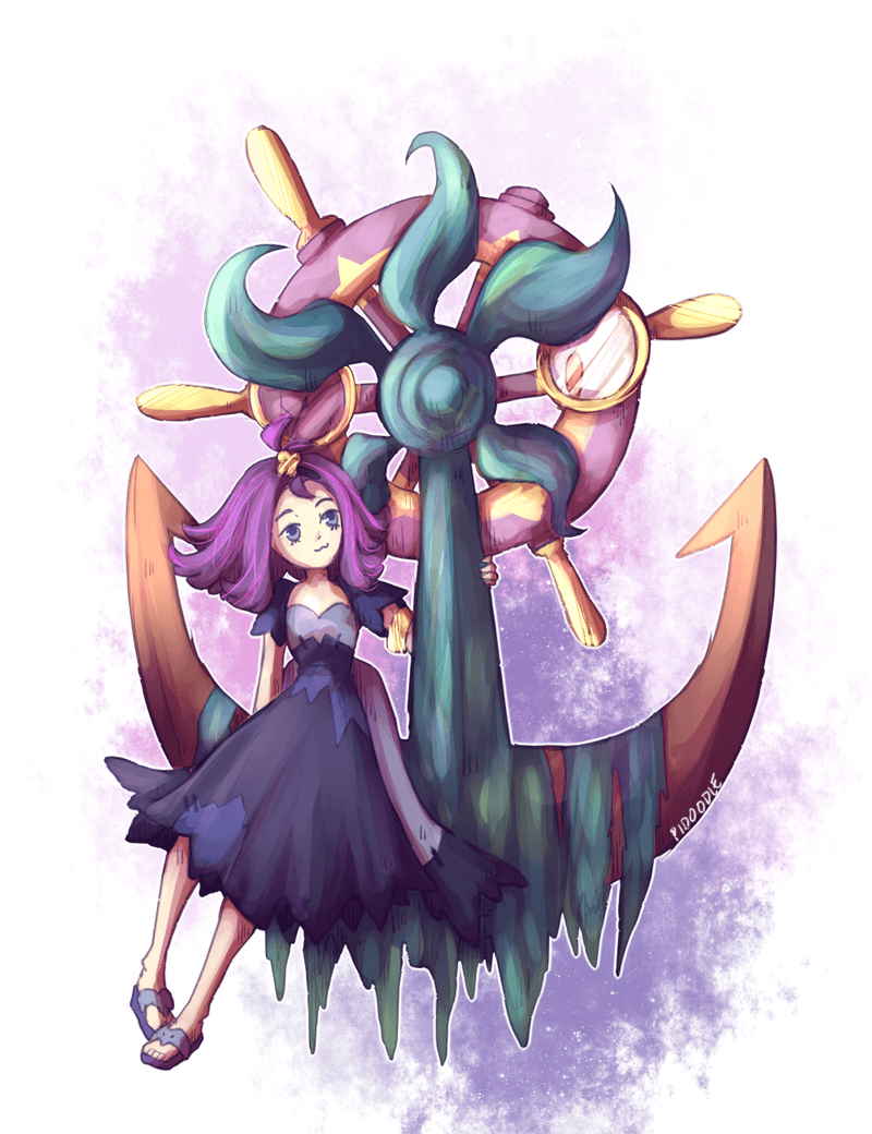 Acerola + Dhelmise by Pidoodle