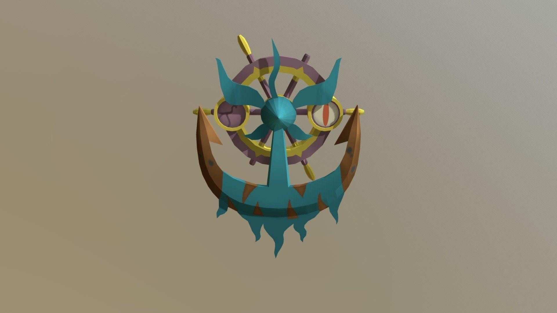 Dhelmise - 3D model by Deo3560 (@Deo3560) - Sketchfab