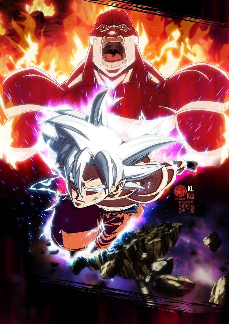 Goku Mui Vs Full Power Jiren Wallpapers Wallpaper Cave