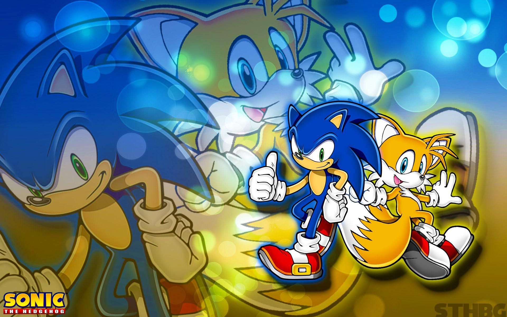 Sonic And Tails Wallpapers Wallpaper Cave
