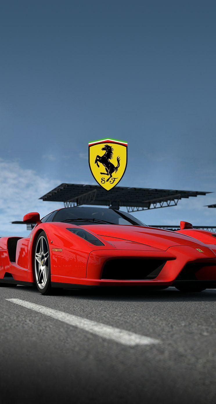 Ferrari Logo Iphone Wallpapers Wallpaper Cave