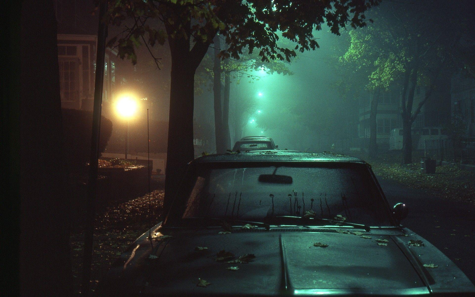 car, Night, Dark, Street Wallpapers HD / Desktop and ...